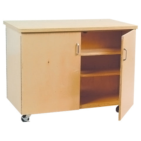 Double Sided Mobile Cabinet