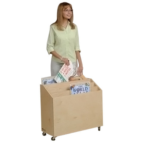 Mobile Big Book Browsing Cart