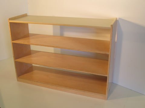 Montessori 3 Tier Shelf Open Back