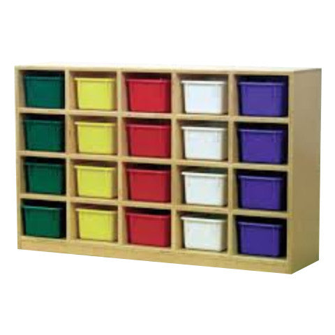 This 20-hole cubby is a great addition to have in your classroom for your kids store their belonging and school supplies.