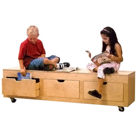 Mobile Sit and Storage Unit
