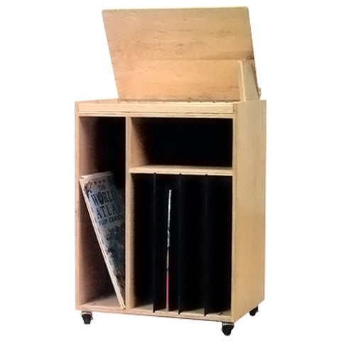 Mobile Big Book Display Storage Unit
