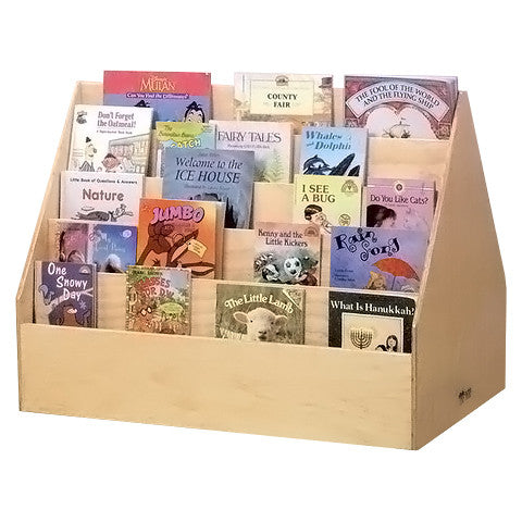 Double-Sided Library Display Unit