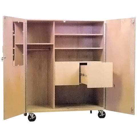 Mobile File/ Wardrobe Storage Cabinet