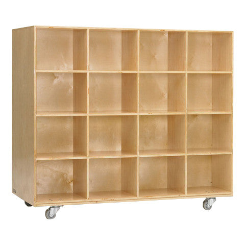 32-Hole Large Cubby Storage Unit