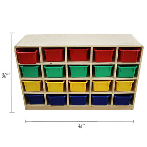 Rounded 20 Hole Cubby