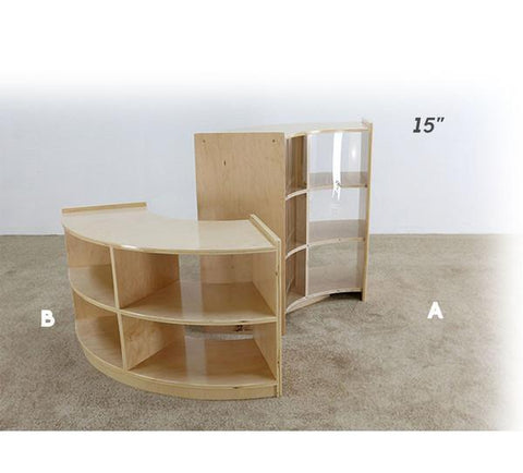 Contour Shelving Unit