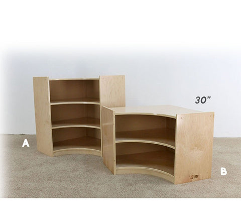 Corner Piece Shelving Unit