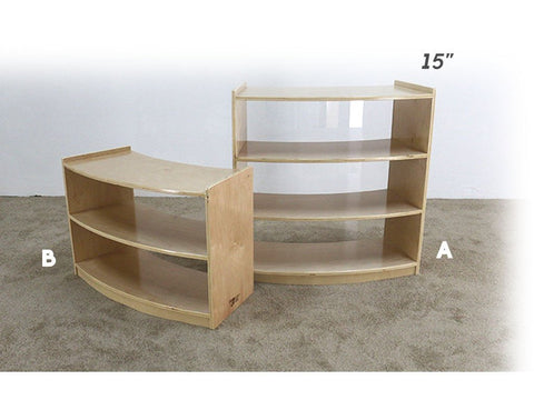 Ellipse Shelving Unit