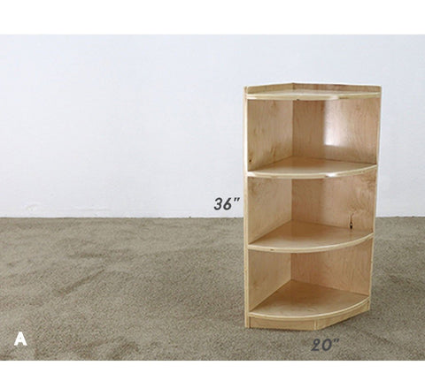 End Corner Shelf Unit