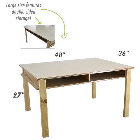 Hidden Storage Table