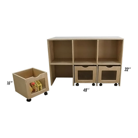 Toddler's Rolly Box Center
