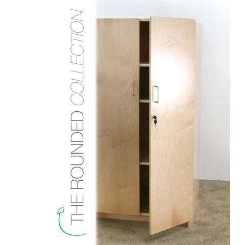 Rounded Teachers Cabinet