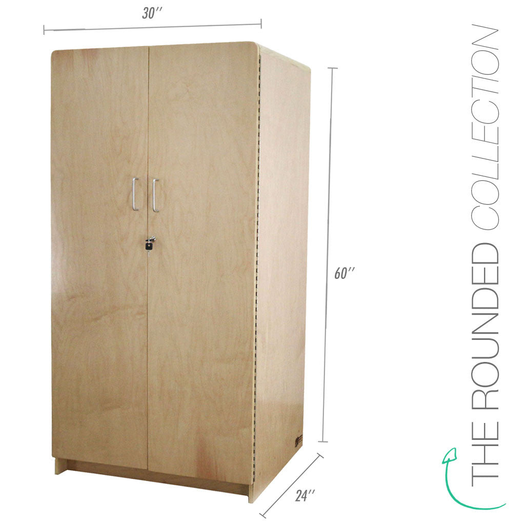 Rounded Teachers Cabinet | Defoe Furniture 4 Kids