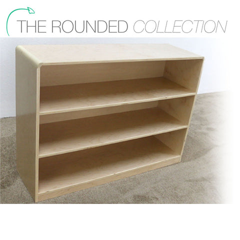 Rounded Shelf Storage