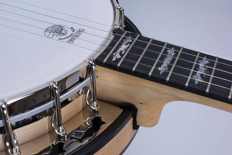 Custom Deering Eagle II 5-String Banjo with Linseed Oil Finish - Banjo Studio