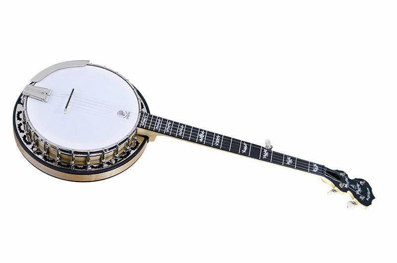 Custom Deering Eagle II 5-String Banjo with Linseed Oil Finish - Banjo Studio  - 1