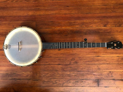 Custom Pisgah Cherry Rambler Dobson 5-String Banjo Short Scale