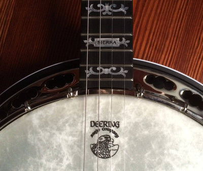 Deering Sierra Maple 19-Fret Tenor Banjo with Tubaphone Tone Ring - Banjo Studio  - 4
