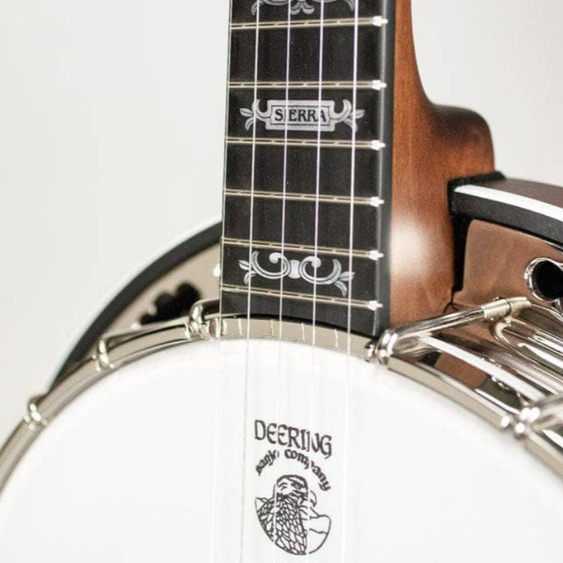Deering Sierra Maple 5-String Banjo - Banjo Studio  - 2