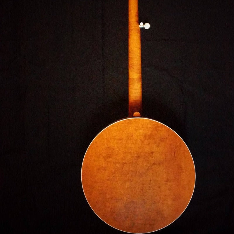 Deering Sierra Maple 5-String Banjo with Linseed Oil Finish and Honey Amber Stain - Banjo Studio