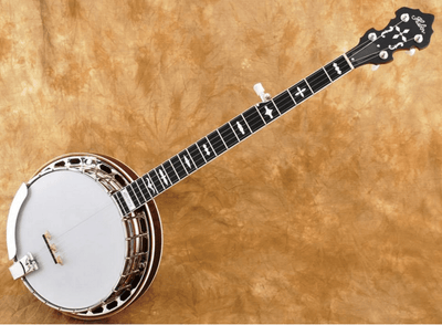 Huber Workhorse Curly Maple Banjo - Banjo Studio