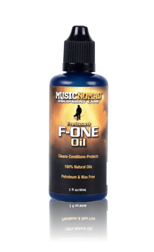 MusicNomad Fretboard F-ONE Oil - Cleaner & Conditioner 2 oz - Banjo Studio