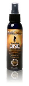 MusicNomad The Guitar ONE - All in 1 Cleaner, Polish, Wax for Gloss Finishes 4oz. - Banjo Studio