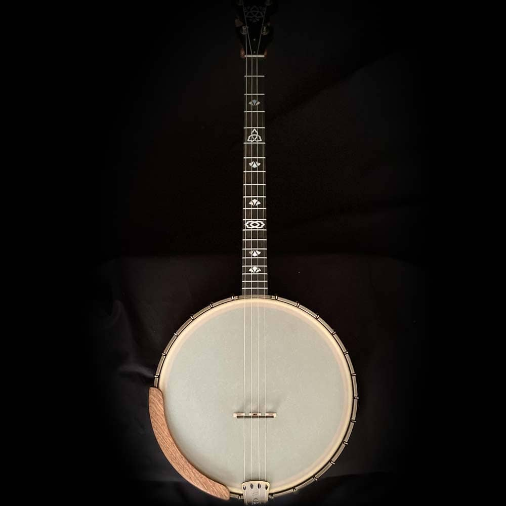 Ome Celtic Irish Tenor Banjo body front