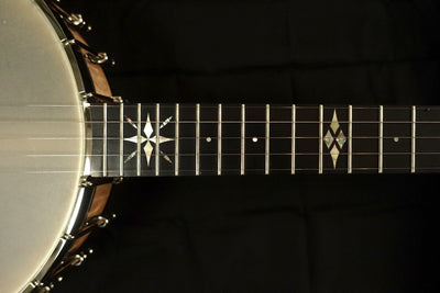Ome North Star 5-String Banjo with Select Curly Maple - Banjo Studio  - 8