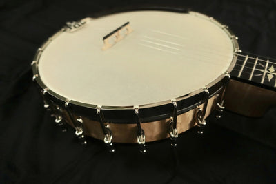 Ome North Star 5-String Banjo with Select Curly Maple - Banjo Studio  - 12