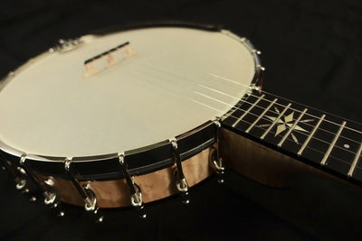 Ome North Star 5-String Banjo with Select Curly Maple - Banjo Studio  - 13