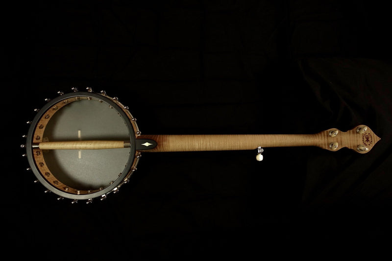Ome North Star 5-String Banjo with Select Curly Maple - Banjo Studio  - 1