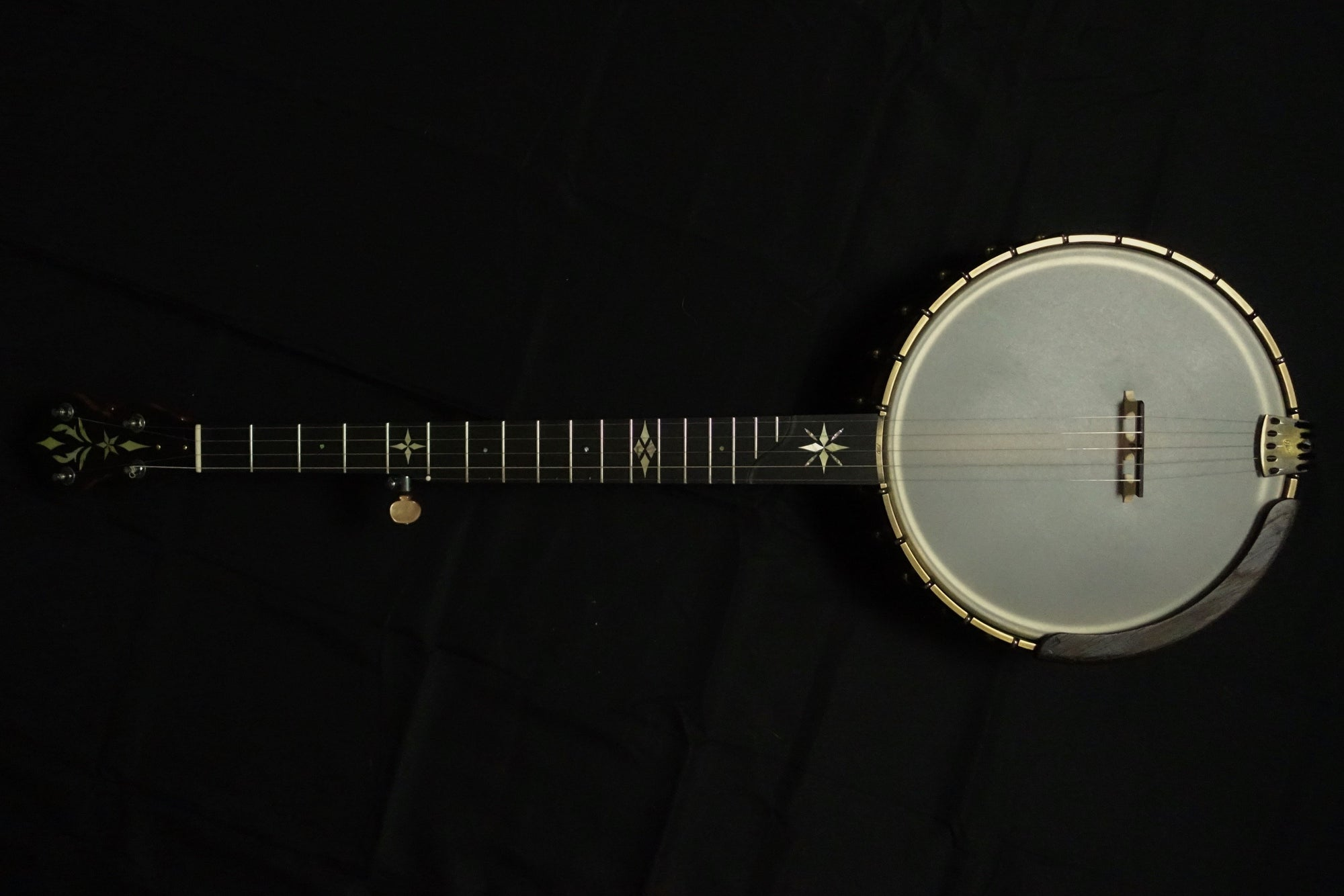 Ome North Star 5 String Banjo with Tubaphone Tone Ring and Select Cherry Neck - Banjo Studio