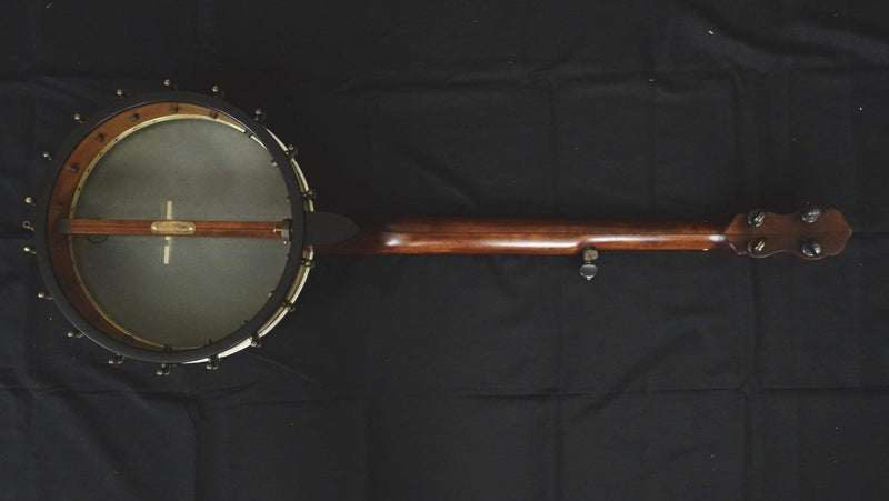 "Pisgah 12"" Custom 5 String Banjo with Tubaphone Tone Ring"
