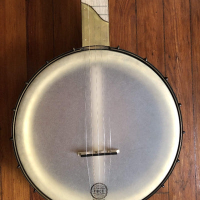 "Pisgah Banjo - 12"" Maple Dobson Custom Short Scale with Brass S Scoop"
