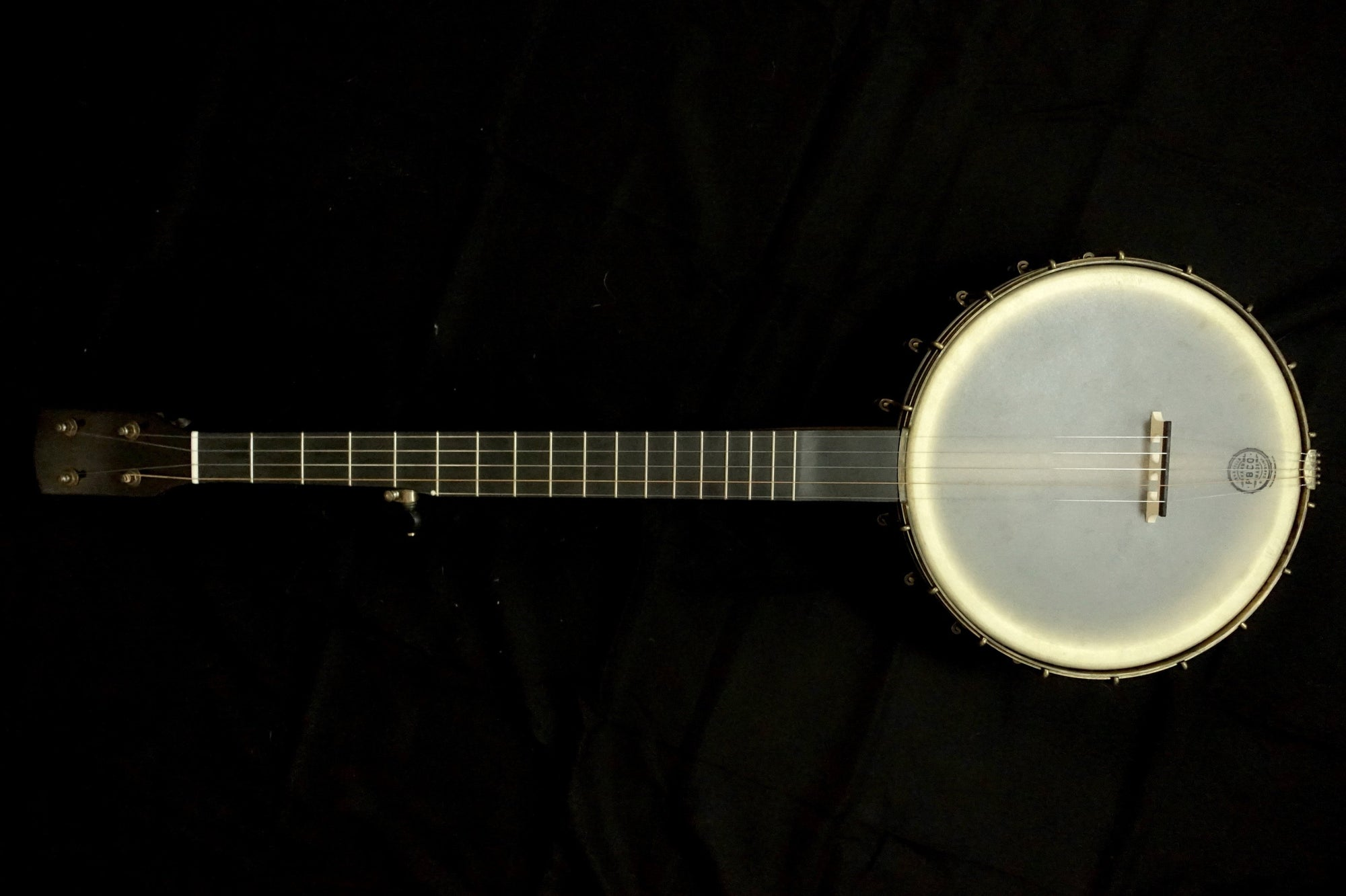 "Pisgah Cherry Brass Spun Rambler Dobson 5-String Banjo Short Scale with 11"" Pot - Banjo Studio"