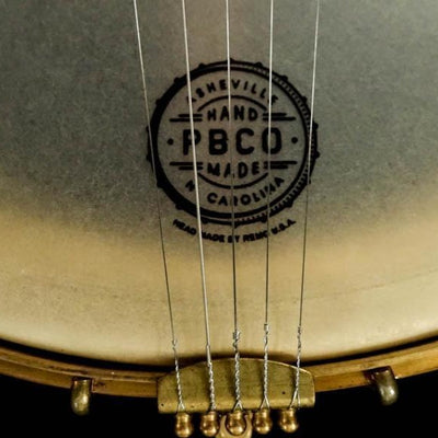 "Pisgah Walnut Rambler Dobson 5-String Banjo with 12"" Pot - Banjo Studio"