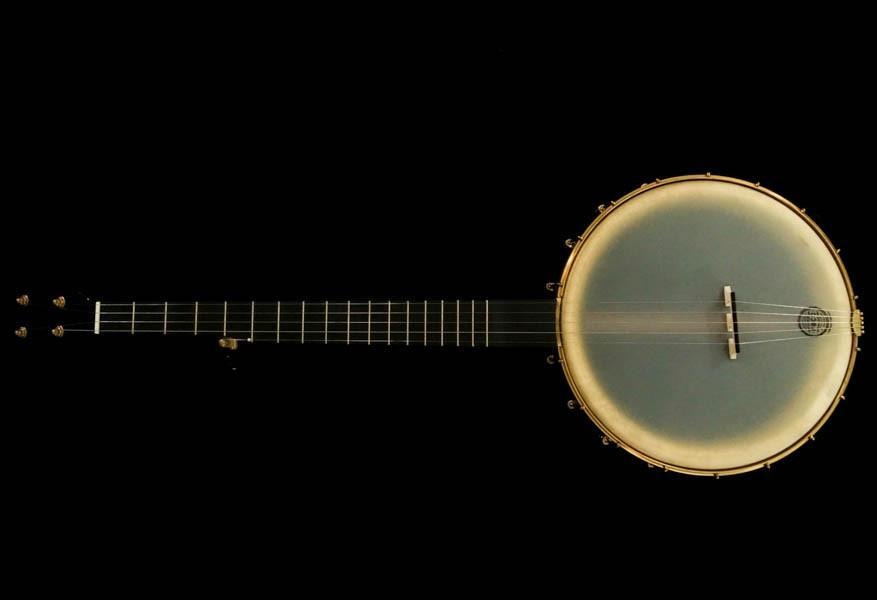 "Pisgah Walnut Rambler Dobson 5-String Banjo with Copper Spun 12"" Pot - Banjo Studio"