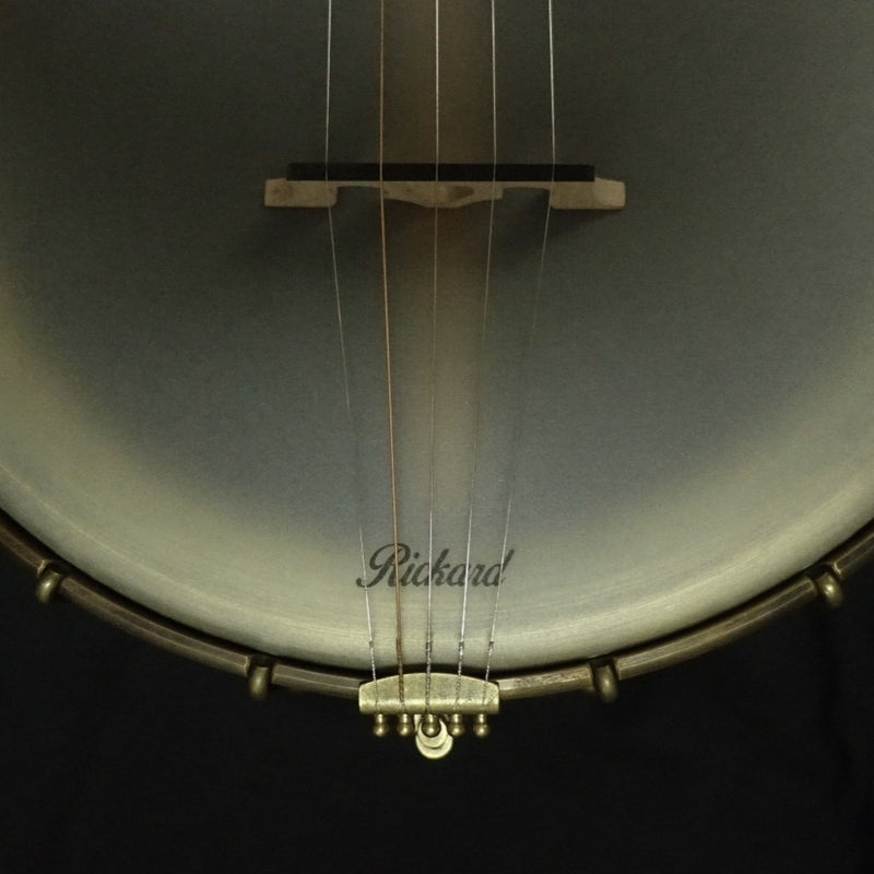 "Rickard Maple Ridge 12"" Banjo with Antiqued Brass Hardware"