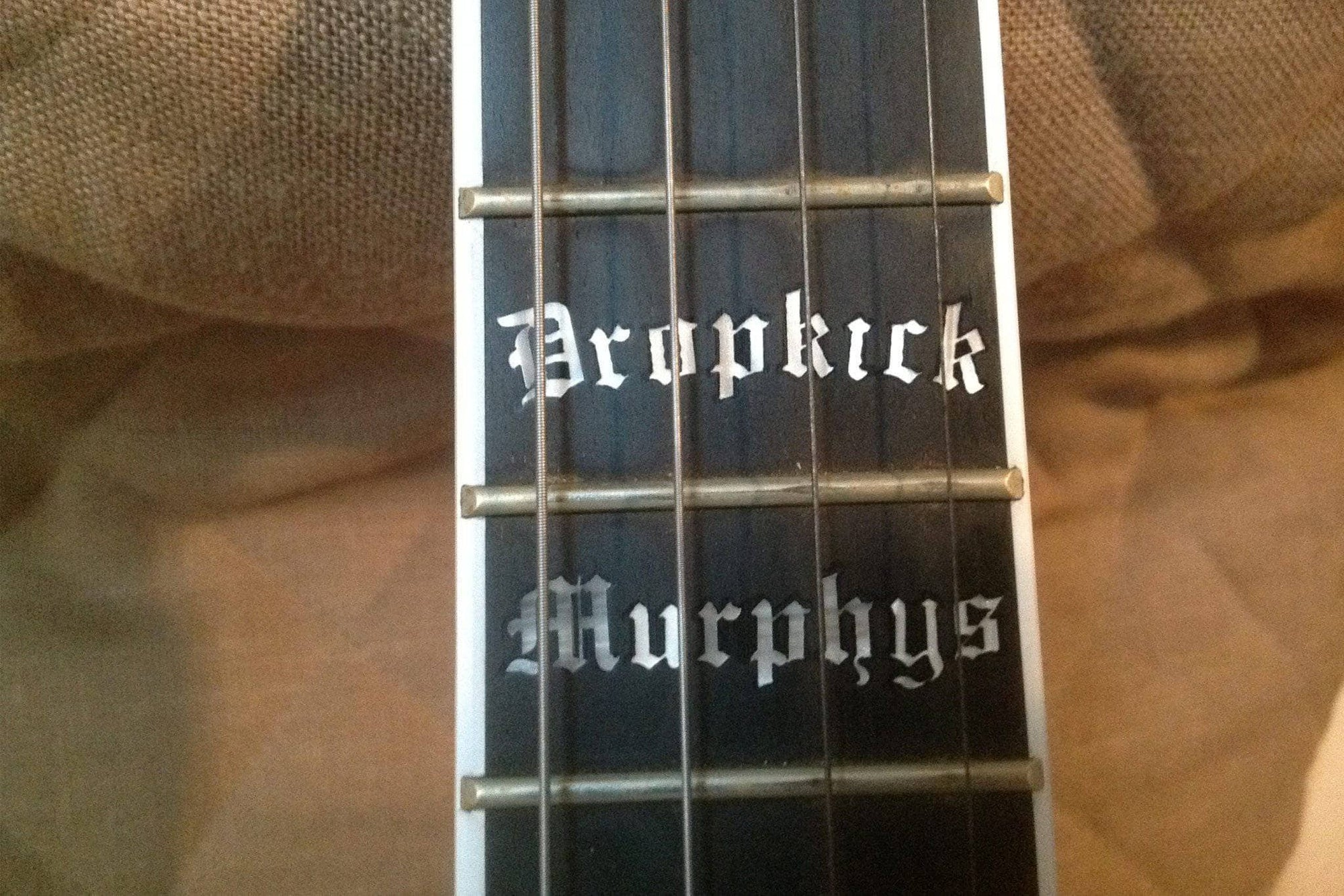 Used Deering Acoustic/Electric Dropkick Murphys 19-Fret Tenor Banjo - Banjo Studio