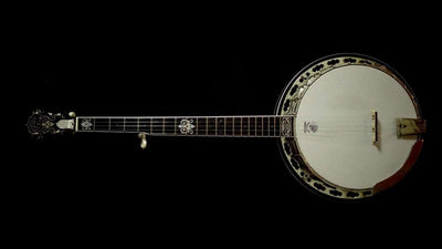 Used Deering John Hartford Banjo with Grenadillo Tone Ring Deering 5 String Banjos Default