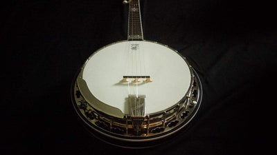 Used Deering John Hartford Banjo with Grenadillo Tone Ring - Banjo Studio
