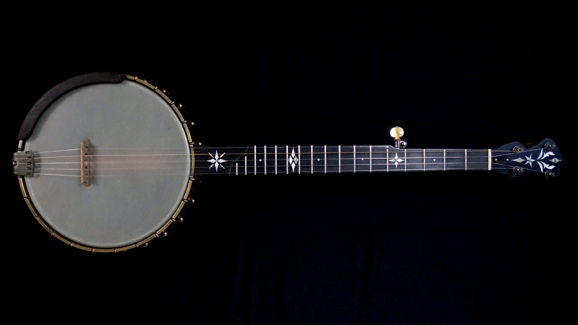 Used Ome North Star 5-String Banjo with Select Curly Maple and Silverspun Tone Ring