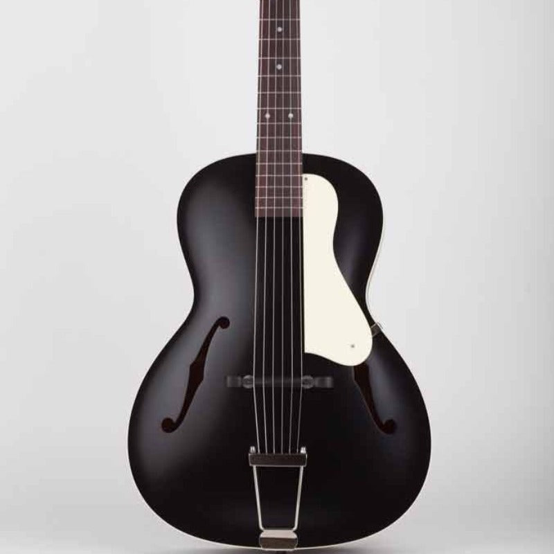 Waterloo Archtop Guitar - Jet Black - Banjo Studio