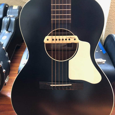 Waterloo WL-14 X Guitar Jet Black with LR Baggs Pickup - Banjo Studio