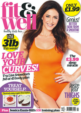 Fit & Well magazine - TODIVEFOR feature