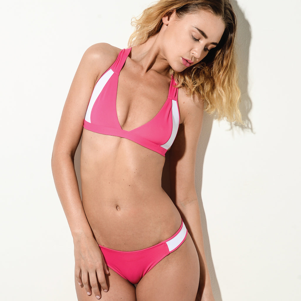 Collection Four Resort Pink Cross Over Bikini