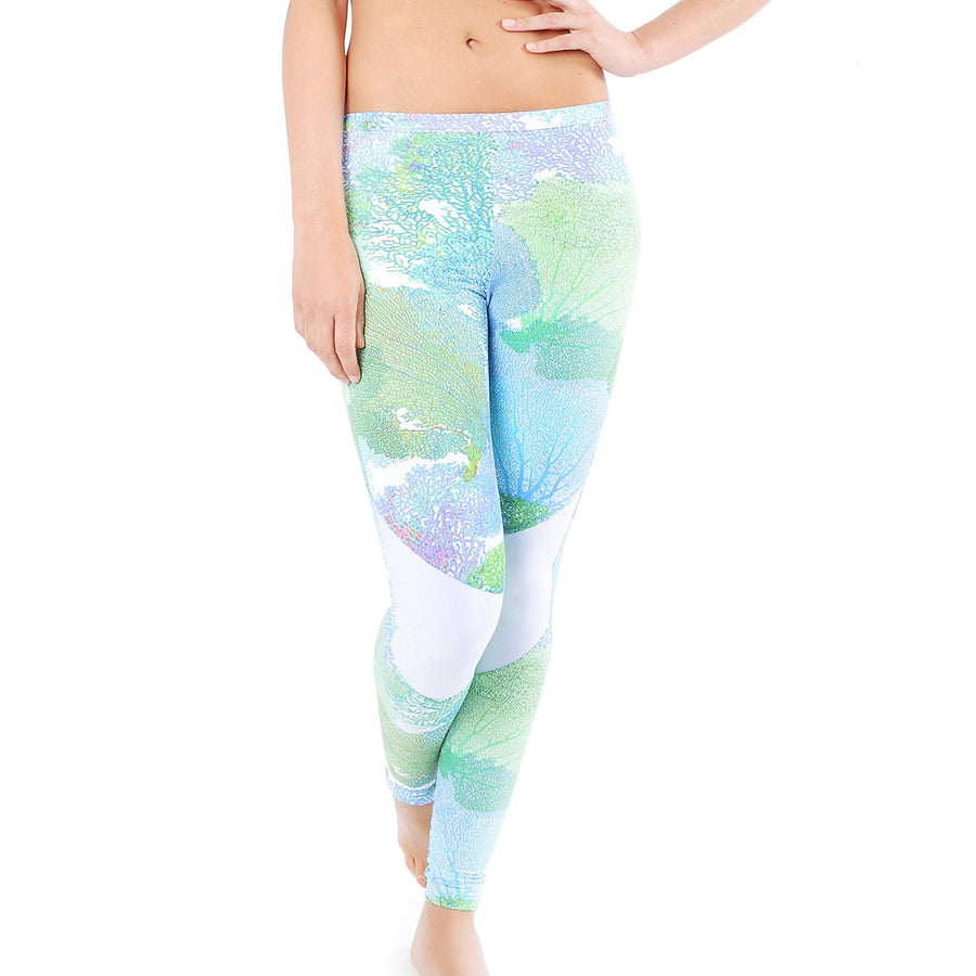 Scuba Dive Leggings | Coral