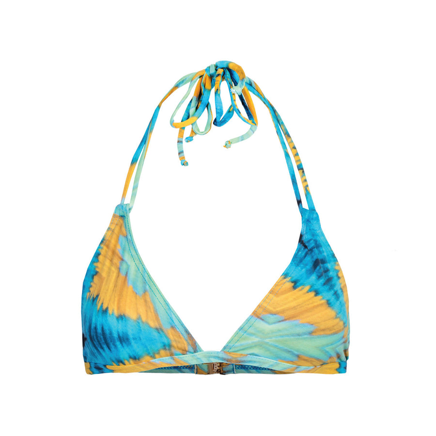 TRIANGLE BIKINI TOP | PARROTFISH